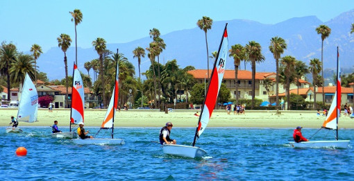 More information on RS Tera fleet enjoying some racing at the Santa Barbara Seashell Regatta